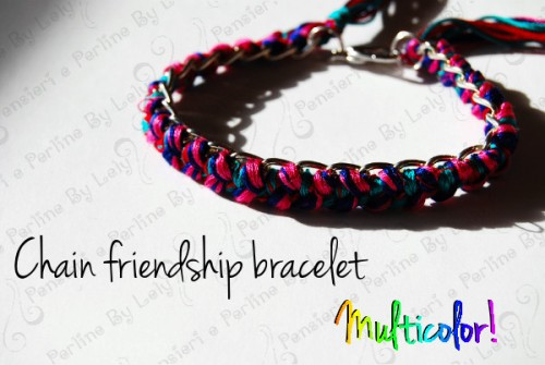 chain friendship bracelet_W_bracelet